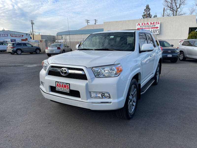 2013 Toyota 4Runner for sale at Adams Auto Sales in Sacramento CA