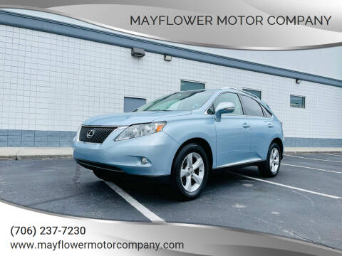 2010 Lexus RX 350 for sale at Mayflower Motor Company in Rome GA