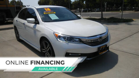 2016 Honda Accord for sale at Super Cars Sales Inc #1 in Oakdale CA