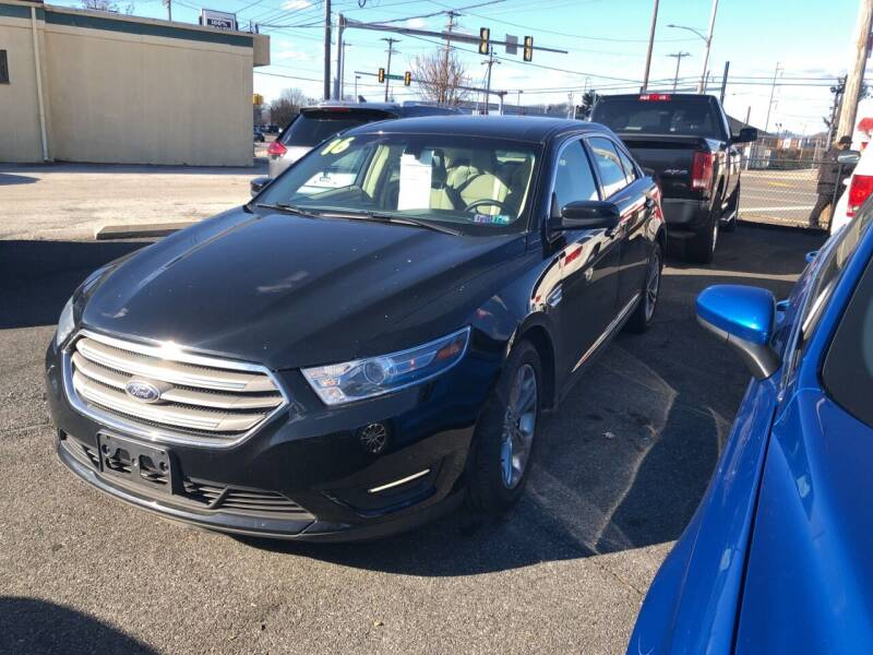 2016 Ford Taurus for sale at Sharon Hill Auto Sales LLC in Sharon Hill PA