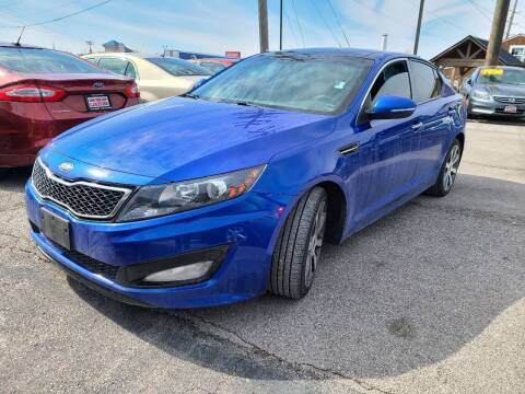 2013 Kia Optima for sale at The Car Store Saint Charles in Saint Charles MO