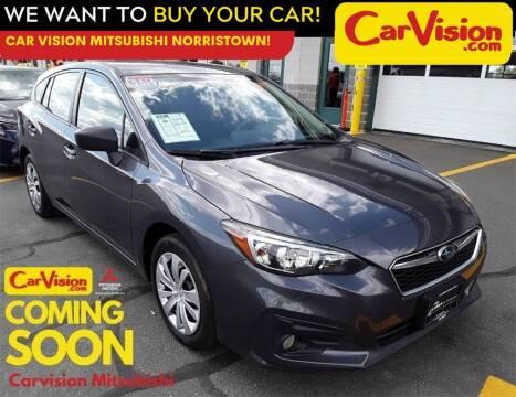 2019 Subaru Impreza for sale at Car Vision Mitsubishi Norristown in Norristown PA