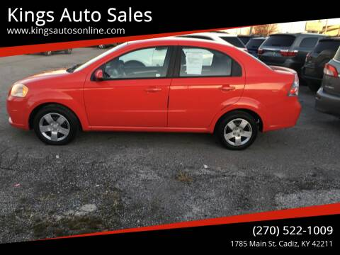 2011 Chevrolet Aveo for sale at Kings Auto Sales in Cadiz KY