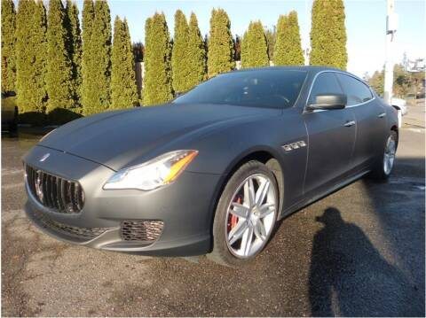 2014 Maserati Quattroporte for sale at Klean Carz in Seattle WA