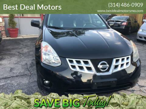 2013 Nissan Rogue for sale at Best Deal Motors in Saint Charles MO