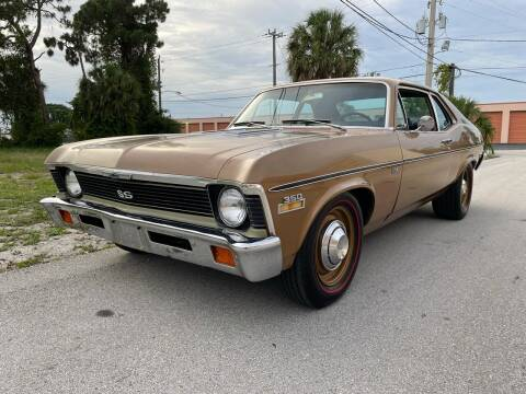 1972 Chevrolet Nova 350 SS Trim Numbers Match for sale at American Classics Autotrader LLC in Pompano Beach FL