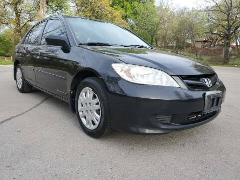 2005 Honda Civic for sale at Thornhill Motor Company in Lake Worth TX