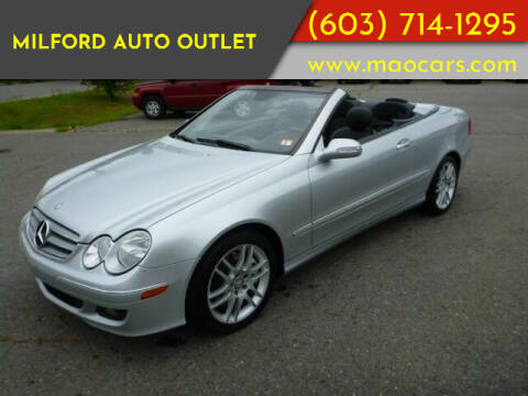 2009 Mercedes-Benz CLK for sale at Milford Auto Outlet in Milford NH