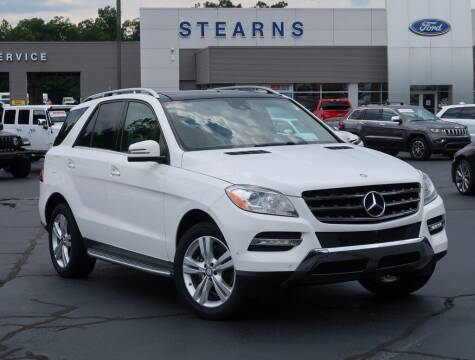 2015 Mercedes-Benz M-Class for sale at Stearns Ford in Burlington NC