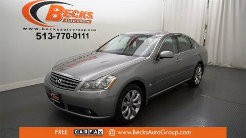 2007 Infiniti M35 for sale at Becks Auto Group in Mason OH