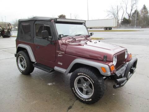 2001 Jeep Wrangler for sale at tazewellauto.com - HarrogateAuto.com in Harrogate TN