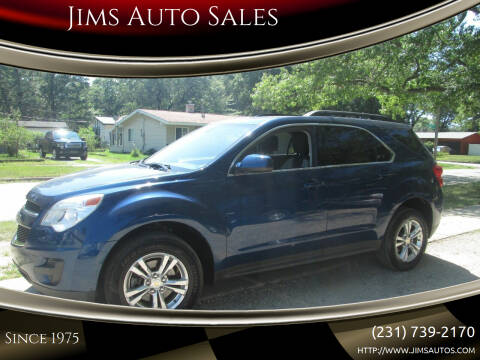 2010 Chevrolet Equinox for sale at Jims Auto Sales in Muskegon MI