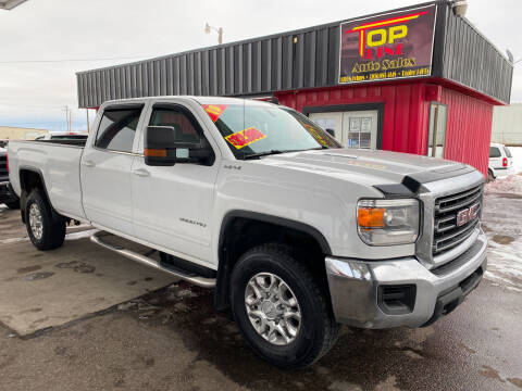 2015 GMC Sierra 3500HD for sale at Top Line Auto Sales in Idaho Falls ID