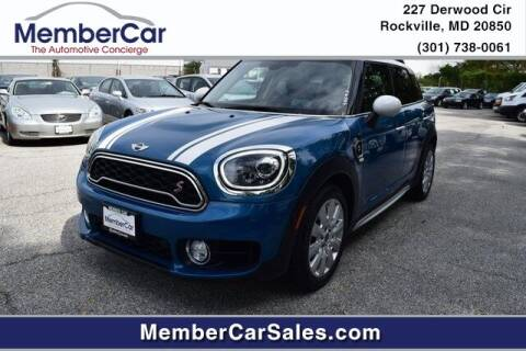 2018 MINI Countryman for sale at MemberCar in Rockville MD