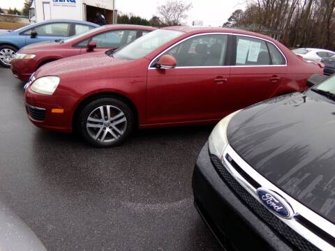 2006 Volkswagen Jetta for sale at Creech Auto Sales in Garner NC