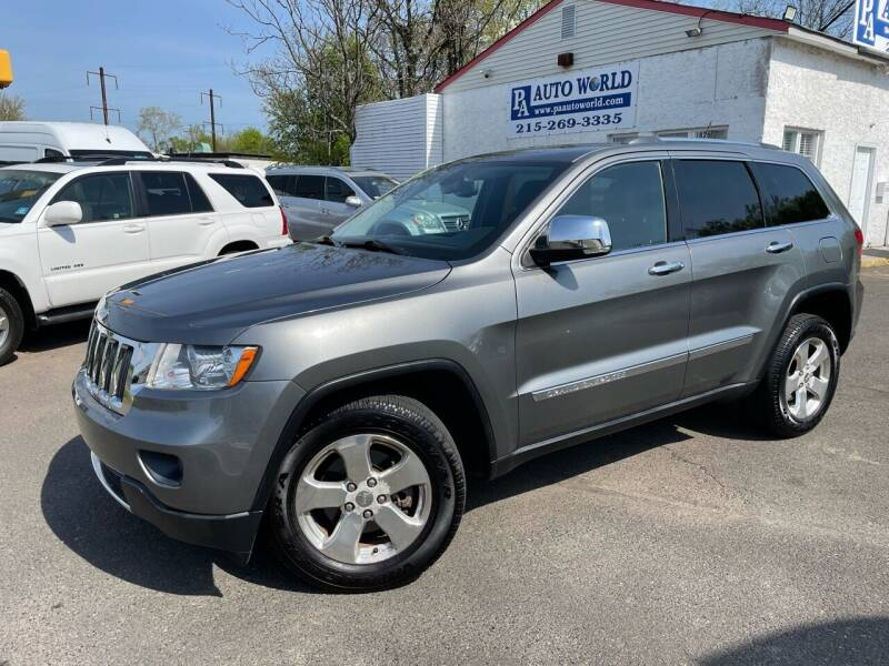 2012 Jeep Grand Cherokee for sale at PA Auto World in Levittown PA