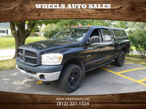 2007 Dodge Ram Pickup 1500 for sale at Wheels Auto Sales in Bloomington IN