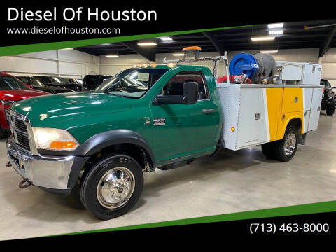 2011 RAM Ram Chassis 5500 for sale at Diesel Of Houston in Houston TX