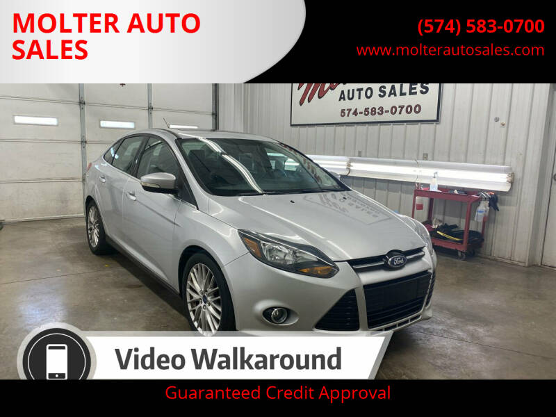 2014 Ford Focus for sale at MOLTER AUTO SALES in Monticello IN