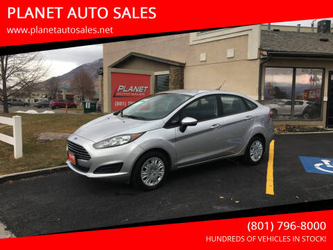 2017 Ford Fiesta for sale at PLANET AUTO SALES in Lindon UT