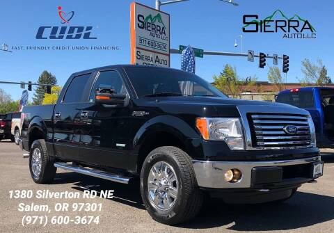2011 Ford F-150 for sale at SIERRA AUTO LLC in Salem OR