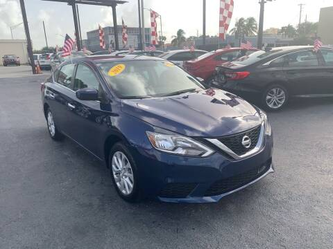 2019 Nissan Sentra for sale at MACHADO AUTO SALES in Miami FL