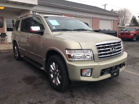 2008 Infiniti QX56 for sale at Rine's Auto Sales in Mifflinburg PA