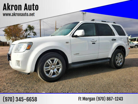 2008 Mercury Mariner for sale at Akron Auto in Akron CO