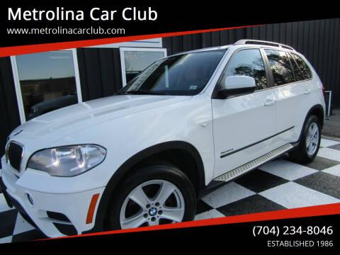 2013 BMW X5 for sale at Metrolina Car Club in Matthews NC