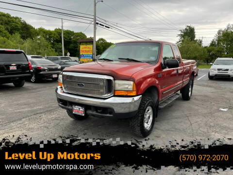1999 Ford F-250 Super Duty for sale at Level Up Motors in Tobyhanna PA