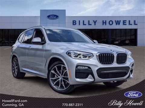 2019 BMW X3 for sale at BILLY HOWELL FORD LINCOLN in Cumming GA