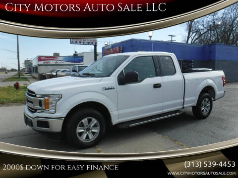 2018 Ford F-150 for sale at City Motors Auto Sale LLC in Redford MI