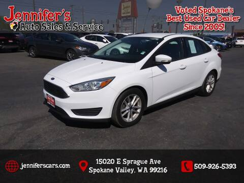 2015 Ford Focus for sale at Jennifer's Auto Sales in Spokane Valley WA