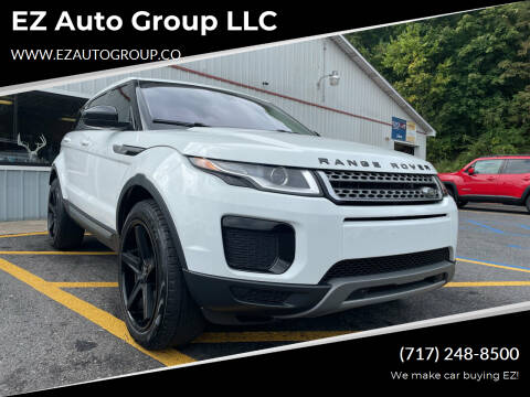 2018 Land Rover Range Rover Evoque for sale at EZ Auto Group LLC in Lewistown PA