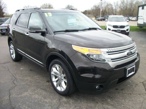 2013 Ford Explorer for sale at USED CAR FACTORY in Janesville WI