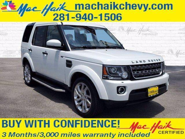 2016 Land Rover LR4 for sale in Houston, TX