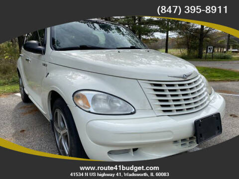2004 Chrysler PT Cruiser for sale at Route 41 Budget Auto in Wadsworth IL