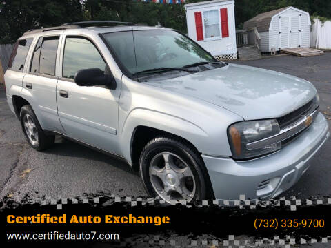 2007 Chevrolet TrailBlazer for sale at Certified Auto Exchange in Keyport NJ