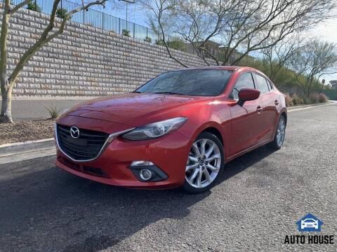 2014 Mazda MAZDA3 for sale at MyAutoJack.com @ Auto House in Tempe AZ