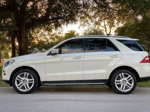 2015 Mercedes-Benz M-Class for sale at HIGH PERFORMANCE MOTORS in Hollywood FL