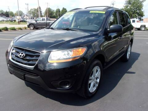 2010 Hyundai Santa Fe for sale at Ideal Auto Sales, Inc. in Waukesha WI