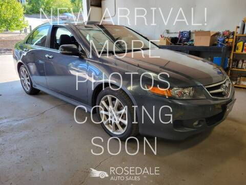 2007 Acura TSX for sale at Rosedale Auto Sales Incorporated in Kansas City KS