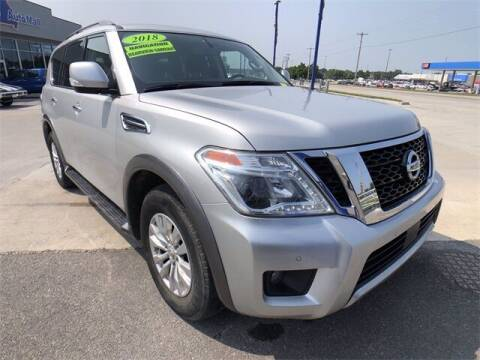 2018 Nissan Armada for sale at Show Me Auto Mall in Harrisonville MO