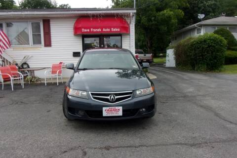 2006 Acura TSX for sale at Dave Franek Automotive in Wantage NJ