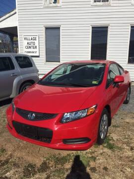 2012 Honda Civic for sale at Village Auto Center INC in Harrisonburg VA