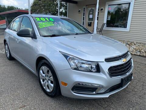 2016 Chevrolet Cruze Limited for sale at G & G Auto Sales in Steubenville OH