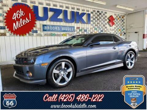 2010 Chevrolet Camaro for sale at BROOKS BIDDLE AUTOMOTIVE in Bothell WA