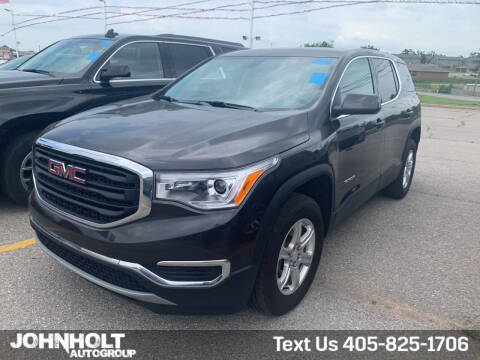 2019 GMC Acadia for sale at JOHN HOLT AUTO GROUP, INC. in Chickasha OK
