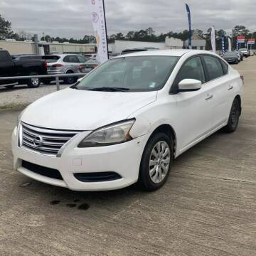 2013 Nissan Sentra for sale at CARZ4YOU.com in Robertsdale AL