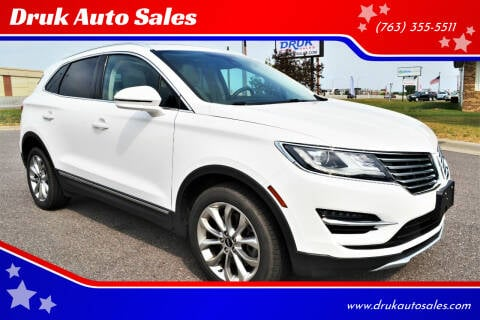 2018 Lincoln MKC for sale at Druk Auto Sales in Ramsey MN
